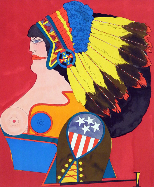 , 'Miss American Indian (from the 'After Noon' portfolio),' 1969, Charles Nodrum Gallery
