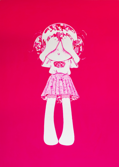 Kojiro Matsumoto, 'Peek-a-pink', 2019, Galerie Droste
