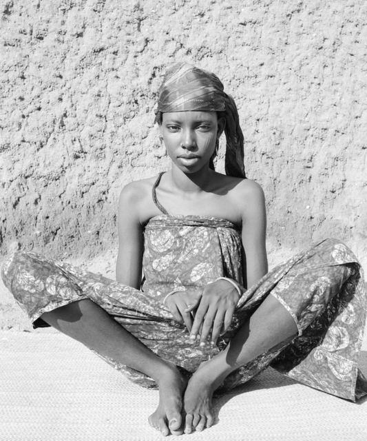 Hector Acebes, 'Natitingou Man, Benin', 1953, Photography, Silver gelatine print, Nomad Gallery