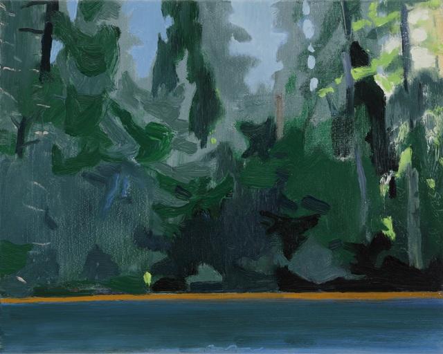 , 'Lake Edge II,' 2018, Tayloe Piggott Gallery