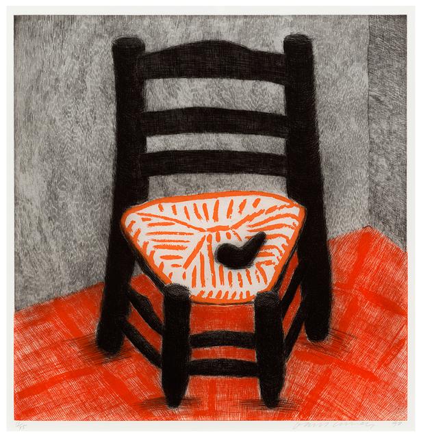 , 'Van Gogh Chair (black),' 1988, Alan Cristea Gallery