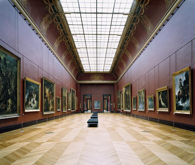 , 'Musée du Louvre, Paris XXI,' 2005, Huxley-Parlour
