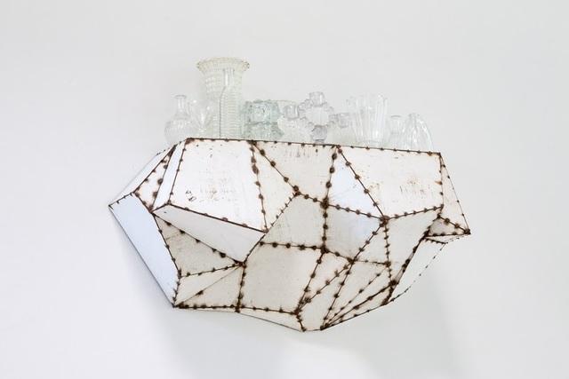 , 'Momentum shelf w/see-thru's,' 2001, Lora Reynolds Gallery