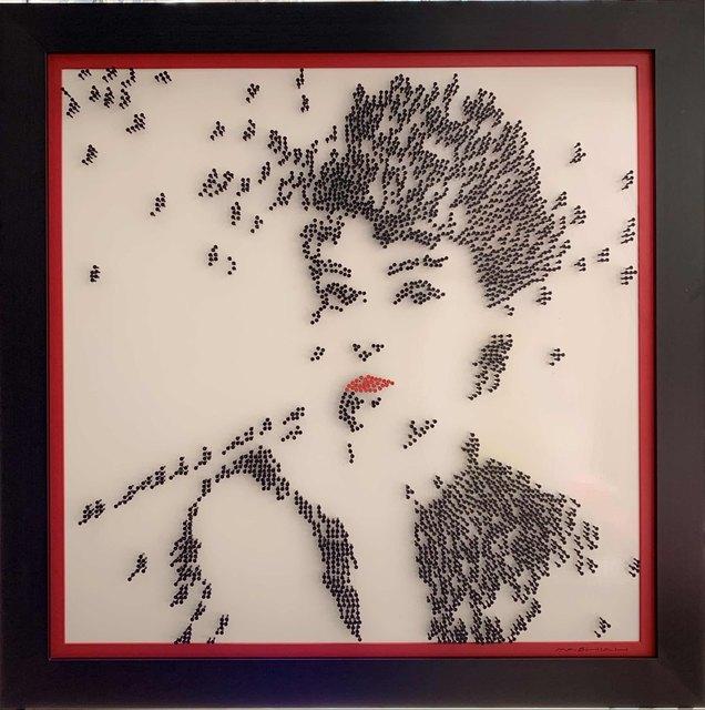 Efraim Mashiah, 'Audrey Hepburn - White Background', 2019, Elena Bulatova Fine Art