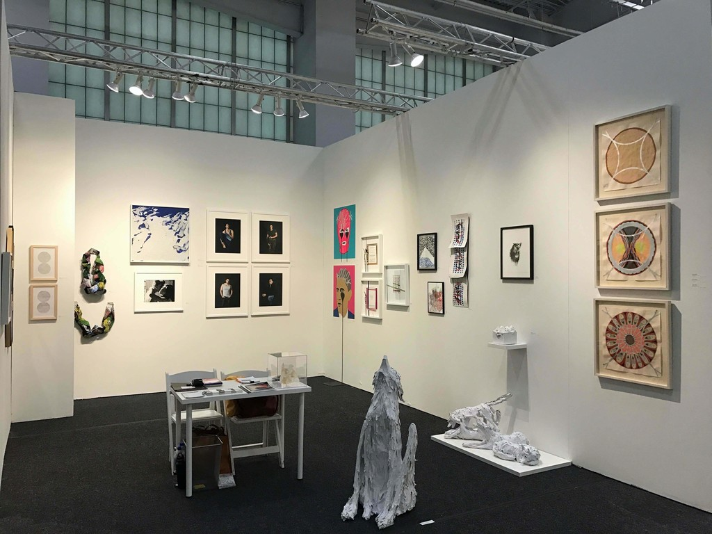 Cindy Lisica Gallery at Art on Paper, NYC, 2017
