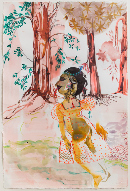 , 'The durability of her beauty, polished fingers, her private and delicate proportions made all the city to know that she was a wonder that only nature was able to ponder,' 2011, Galerie Nathalie Obadia