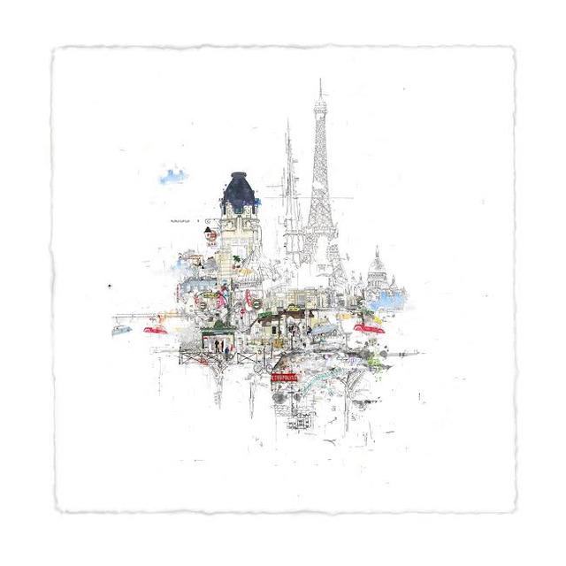 , 'Notre Dame,' 2017, Wychwood Art
