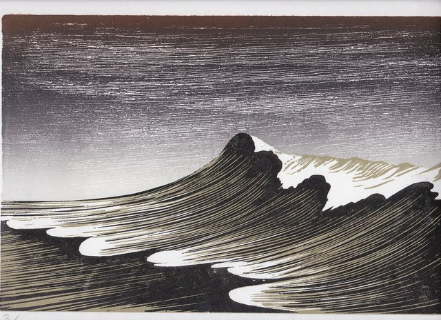 , 'Winter Wave,' , Royal Society of Painter-Printmakers