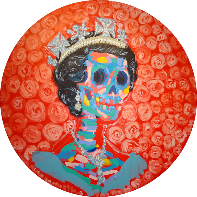 , 'True Queen in the Round,' 2016, Maddox Gallery