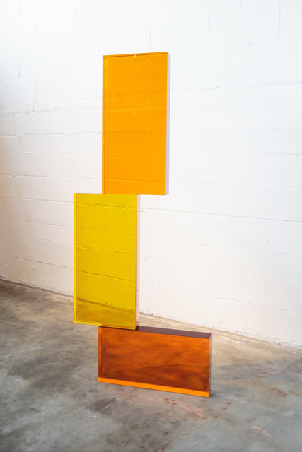 , 'GOLDEN AND AMBER STACK,' 2019, Traver Gallery