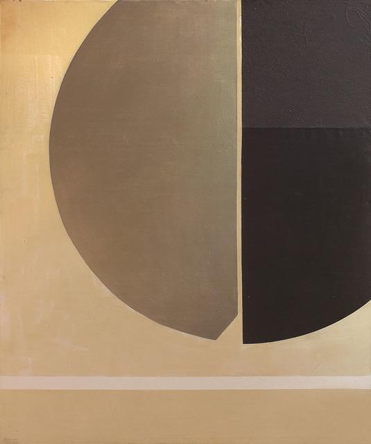 , 'Círculo con plata,' 1980, Galería de las Misiones