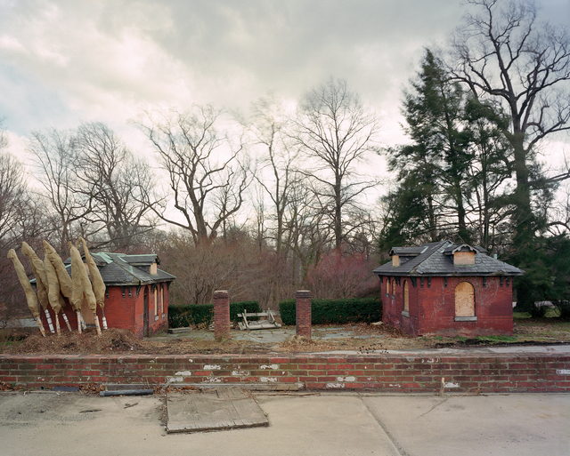 ", 'Philadelphia 1876 World's Fair, ""Centennial Exposition,"" Fair Toilet Buildings,' 2008, Tracey Morgan Gallery"