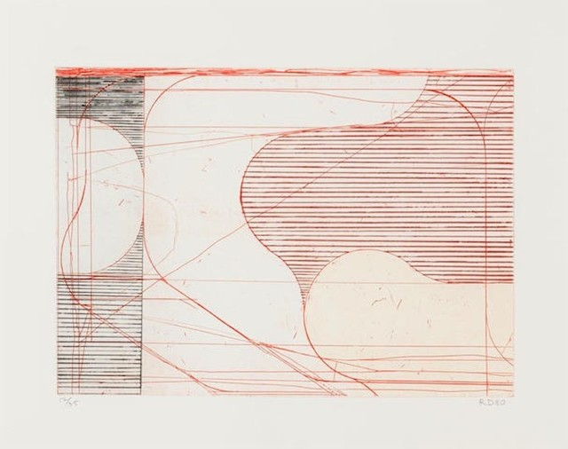 , 'Construct (Drypoint),' 1980, michael lisi / contemporary art