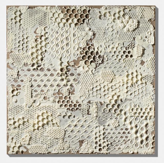 , 'White Collage Painting,' 2015, Gallery NAGA