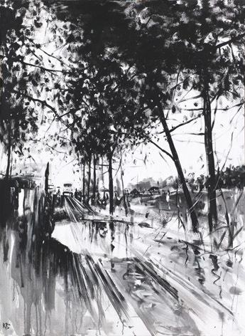 "Konstantin Batynkov, '""Life is all around us"" 1', 2018-2019, Krokin Gallery"