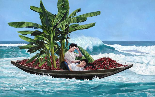 , 'Red Cherry and Green banana 红了樱桃绿了芭蕉,' 2018, Amy Li Gallery
