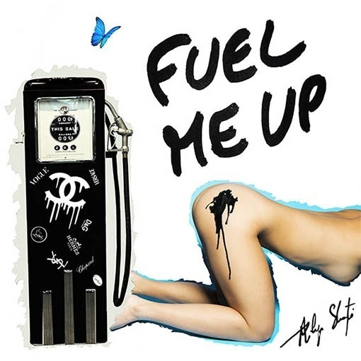 , 'Fuel me up tag,' , Art Angels