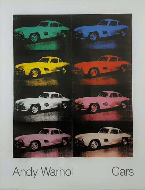 Andy Warhol, 'Cars: Mercedes-Benz 300 SL Coupe, 1954', 1988, Graves International Art