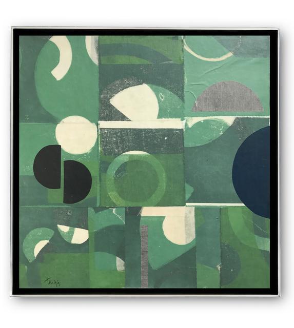 , 'Verde,' 2017, WaterWorks Gallery