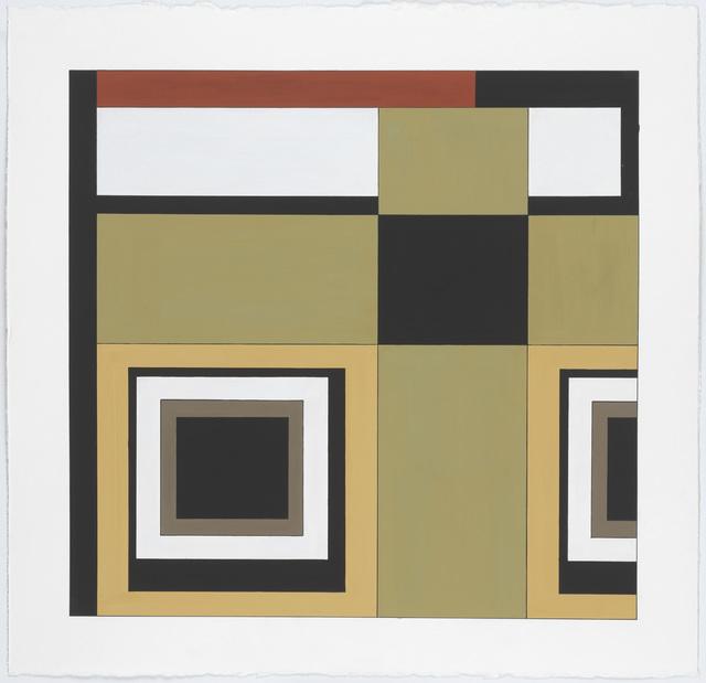 , 'Carpet Color Study #2,' 2014, New Art Centre