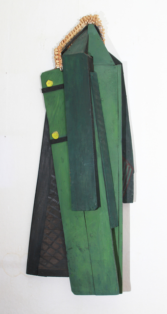 , 'Green coat with a fur collar,' 1989, Marina Gisich Gallery