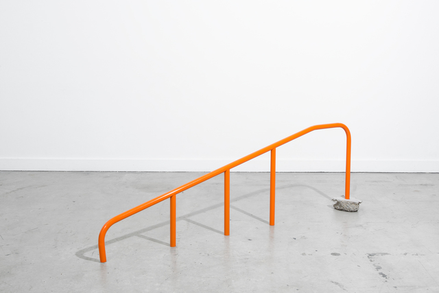 , 'Orange Handrail (too low),' 2016, CES Gallery