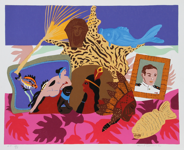 Hunt Slonem, 'My Parents', 1980, RoGallery