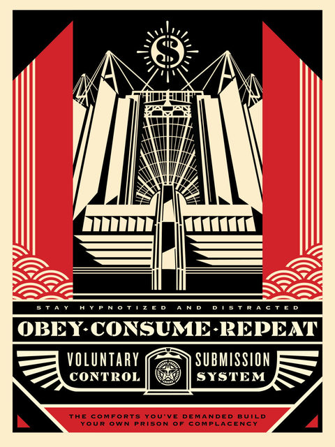 Shepard Fairey, 'Church Of Consumption ', 2017, New Union Gallery