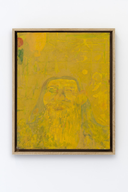 , 'Early Man in Yellow,' 2016, GRIMM
