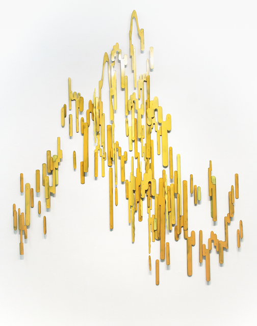 , 'Yellow Current (Winter Willow),' 2015, RYAN LEE