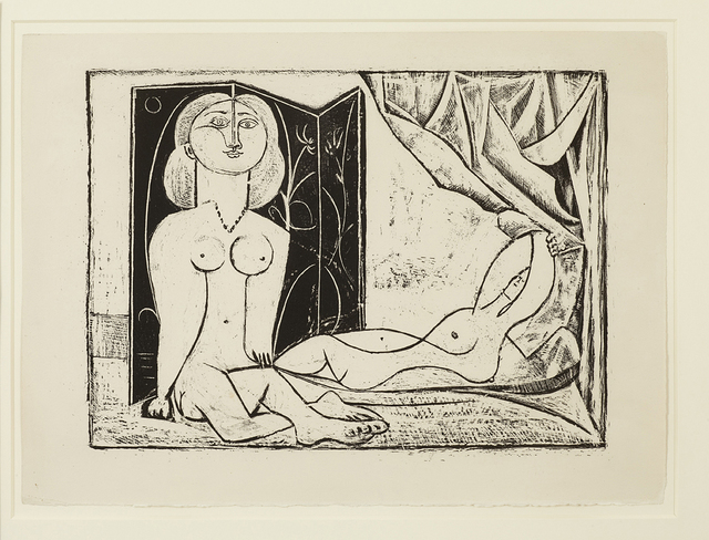 , 'Les Deux Femmes nues, State 11, 21st January 1946,' 1946, Alan Cristea Gallery