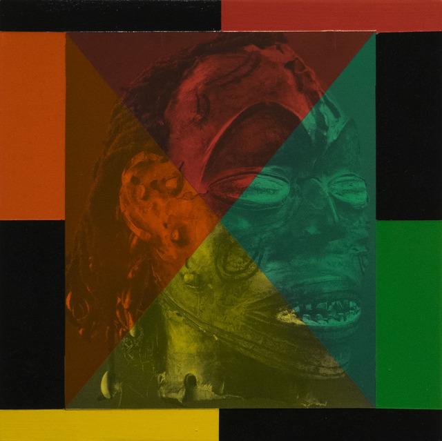 Rico Gatson, 'Mask Painting #1', 2018, Ronald Feldman Gallery