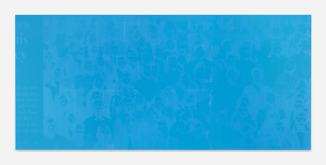 , 'Memento (Farewell, Blue),' 2019, Harlan Levey Projects