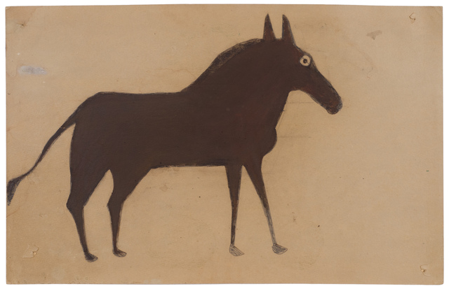 , 'Untitled (Brown and black horse),' ca. 1941, Fleisher/Ollman