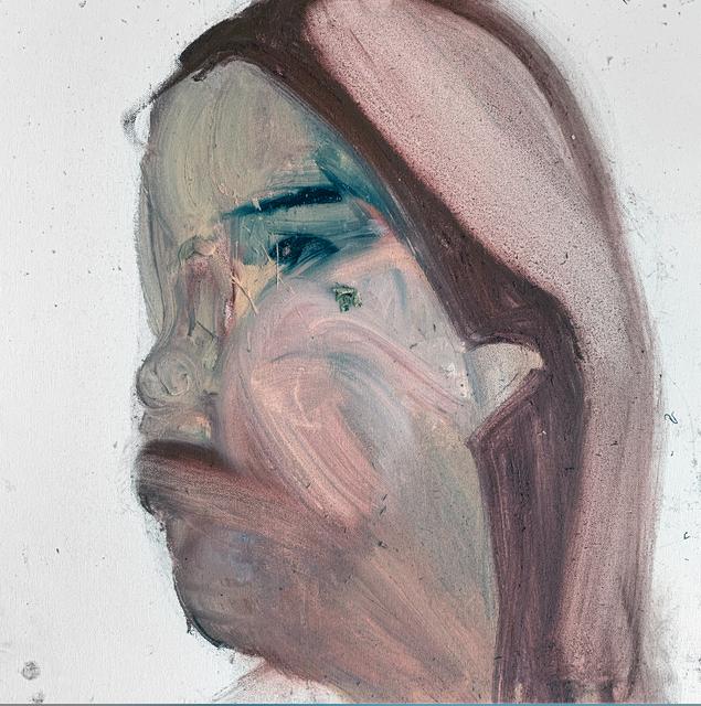 Mani Vertigo, 'My Face Today', 2017, Painting, Oil on canvas, Galleri Duerr