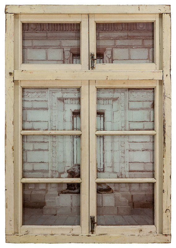 Li Qing 李青, 'Neighbour's Window · London Style #1,' 2013, Leo Xu Projects