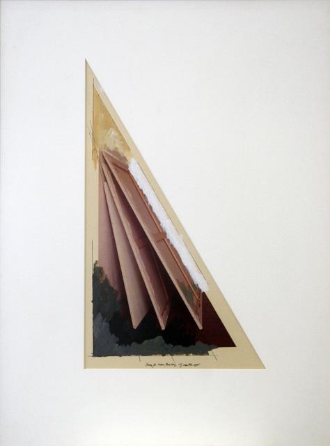 , 'Study for Adieu Painting,' 1978, Galerie Bob van Orsouw