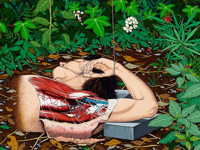 Chen Fei, 'Renaissance in the Bush / 草叢裏的文藝復興', 2013, Perrotin