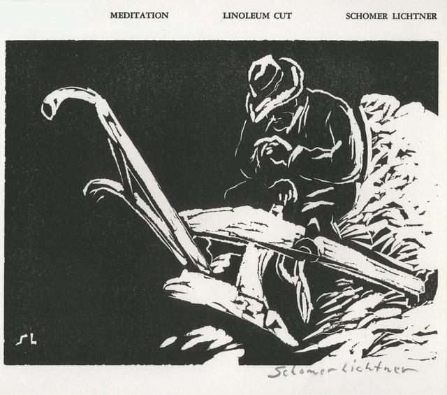 Schomer Lichtner, 'Meditation', 1937, David Barnett Gallery