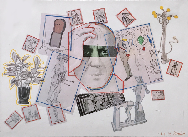 , 'Homage to Picasso,' 1974, Eckert Fine Art