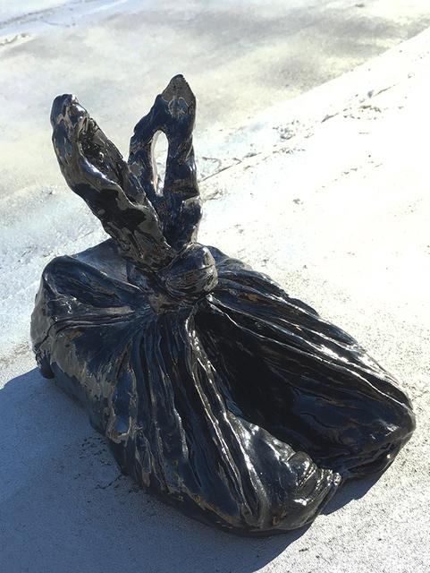 , 'Shoes in a trash bag,' 2016, Y Gallery
