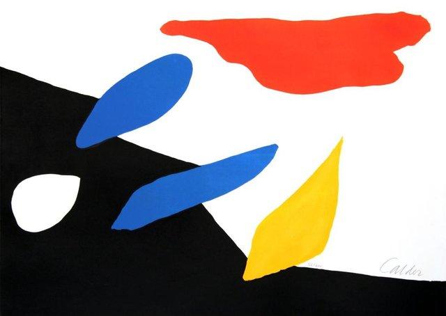 Alexander Calder, 'Untitled (Red Cloud)', Unknown, Kunzt Gallery