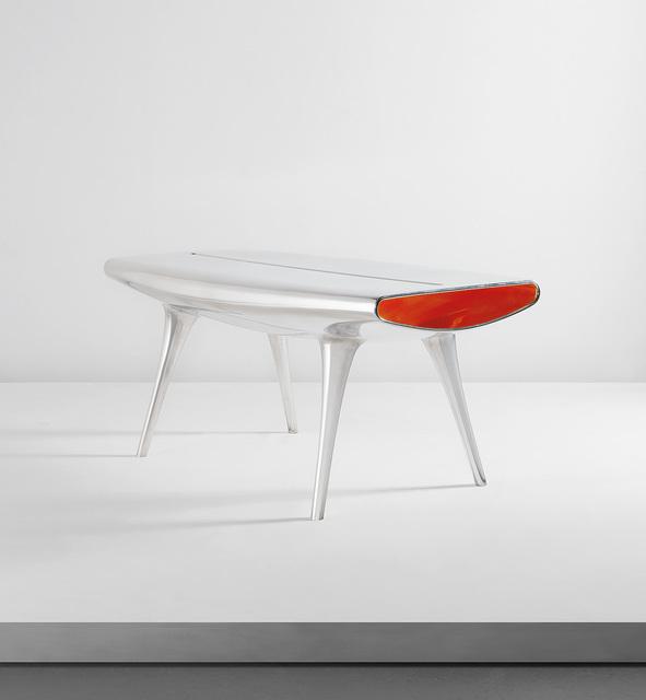 "Marc Newson, '""Event Horizon"" table', 1992, Phillips"