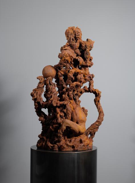 , 'Grotti I,' 2016, Parafin