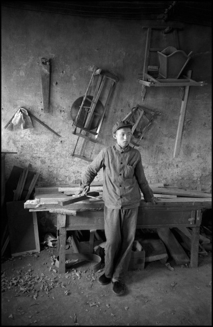 , 'Nanniwan. May 7th Cadre School. Carpenter shop. ,' 1978, °CLAIR Galerie