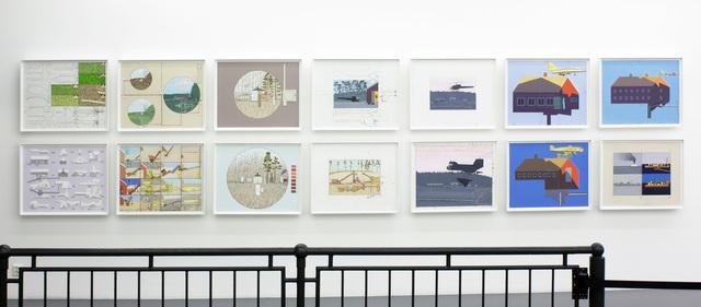 , 'Pastorale scener før og etter solnedgang,' 2010, OSL Contemporary