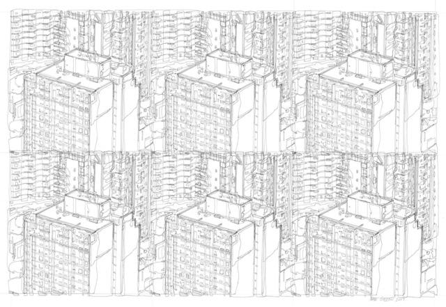 , 'Cityscape IV,' 2017, Gara Perun Gallery