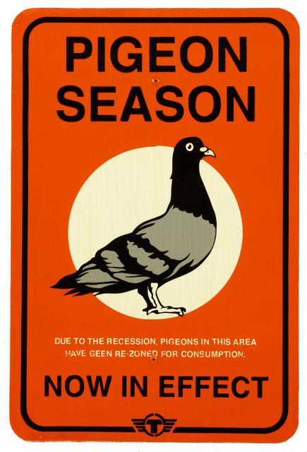 TrustoCorp, 'Pigeon Season', 2012, Chiswick Auctions