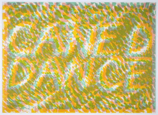 , 'Caned Dance (from Merce Cunningham) ,' 1974, Eckert Fine Art
