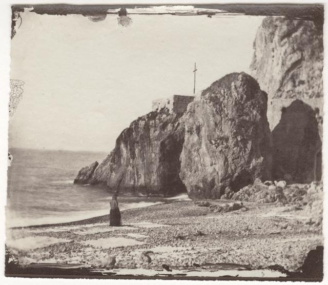 , 'Woman at the seashore,' 1860, Deborah Bell Photographs